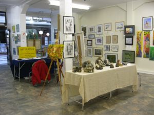 exhibitions of Sefton artists paintings and drawings,