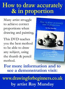 video, dvd, on how to draw, measure accurately, drawing for beginners, merseyside, sefton, lancashire