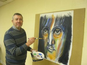 adult beginners art class, watercolours, acrylics, drawing, beginners, liverpool, sefton, merseyside and southport
