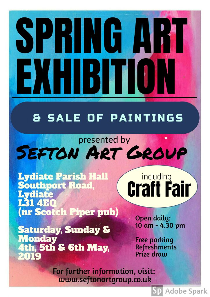 art exhibition, buy paintings, craft fair, lydiate, liverpool, southport, sefton, merseyside