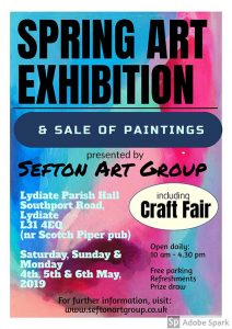 art classes, may exhibition, sale of paintings, by sefton art group members, learn to paint, adult classes