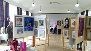 art exhibition by the sefton art group, liverpool, sefton, merseysside