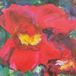 painting by member sefton art group, hightown art class, sefton, merseyside