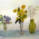 painting by carol brown, sefton art group, merseyside