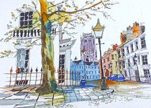 watercolour class, hightown, sefton art group, art classes for beginners, merseyside