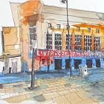 philharmonic hall, liverpool, watercolour art class, beginners, Liverpool, sefton, southport, merseyside