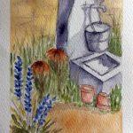 watercolour class, atkinson art centre, southport, merseyside, art class, beginners