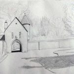 quick sketch, sefton art group, atkinson art centre, southport, merseyside,