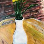 By Paul, Tulips to remind us it's still spring despite the cold wind