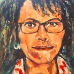 portrait painting, sefton art group, beginners art class, southport, formby, merseyside