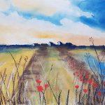 watercolour & pastel, art class, beginners, learn art, atkinson, southport, liverpool, merseyside,