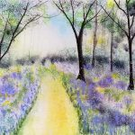 watercolour painting, beginners art class, atkinson southport, sefton art group, merseyside