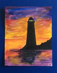 acrylic painting, for beginners, liverpool, southport, merseyside, art class, classes