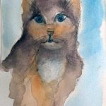 creative watercolour art class, liverpool, southport, maghull, merseyside,
