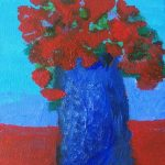 acrylic painting, member sefton art group, southport, merseyside