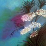 flower painting by Linda, watercolour,