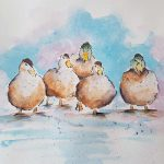 watercolour painting class, near me, southport, ormskirk, liverpool, sefton, merseyside,