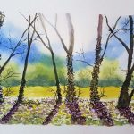 learn to paint, watercolours, online, on line, art course, beginners,