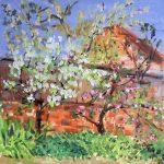 beginners watercolour class, atkinson art centre, southport, merseyside