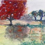pastel painting, sefton art group, art classes, liverpool, merseyside, southport