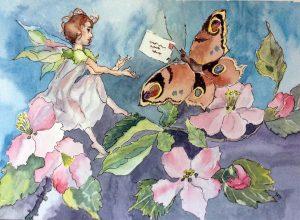 by Susan Brookfield, art class, atkinson art centre, southport, merseyside