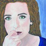 portrait, art class, sefton art group