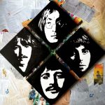 painting, the beatles, liverpool, merseyside, zoom art class, merseyside,