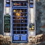 pastel art work, by member sefton art group, liverpool, lydiate, southport, merseyside, uk