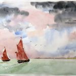 zoom art class, near me, online watercolour art class, formby, southport, maghull, merseyside,