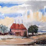 learn watercolours, beginners art class, near me, ormskirk, lancashire, preston,