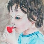 portrait painting, beginners, art class, southport, formby, maghull, sefton, merseyside,