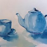 watercolour zoom art class, art course, on line art course, liverpool, southport, Merseyside,