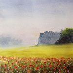 watercolour painting, art class, acrylic painting, learn art, on line art course, near me, zoom art classes, merseyside, lancashire,