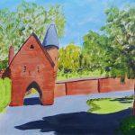 painting, landscape, art classes, liverpool, merseyside. online art classes,