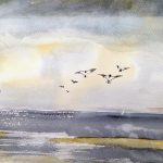 watercolour painting, art class, online art classes, for beginners, ormskirk, preston, lancashire,