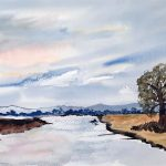 watercolour painting, sefton art group, online art classes, near me, sefton, southport, merseyside,