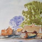 watercolour painting, sefton art group, southport, merseyside,
