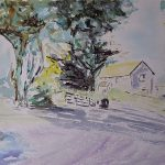 watercolour painting, sefton art group, liverpool, southport, merseyside, uk, online art courses