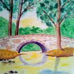 watercolour painting, beginners art class, learn drawing and painting, online, zoom art classes, merseyside,