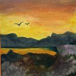 acrylic painting, sefton art group, online art class,beginners, art classes