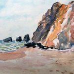atkinson watercolour class, art class, southport, merseyside, online art course,