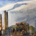 painting, industrial painting, landscape, online art class, sefton art group, for beginners, art class, liverpool, merseyside, southport,
