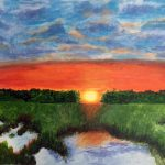 acrylic painting class, near me, liverpool, online art class, southport, sefton,merseyside,